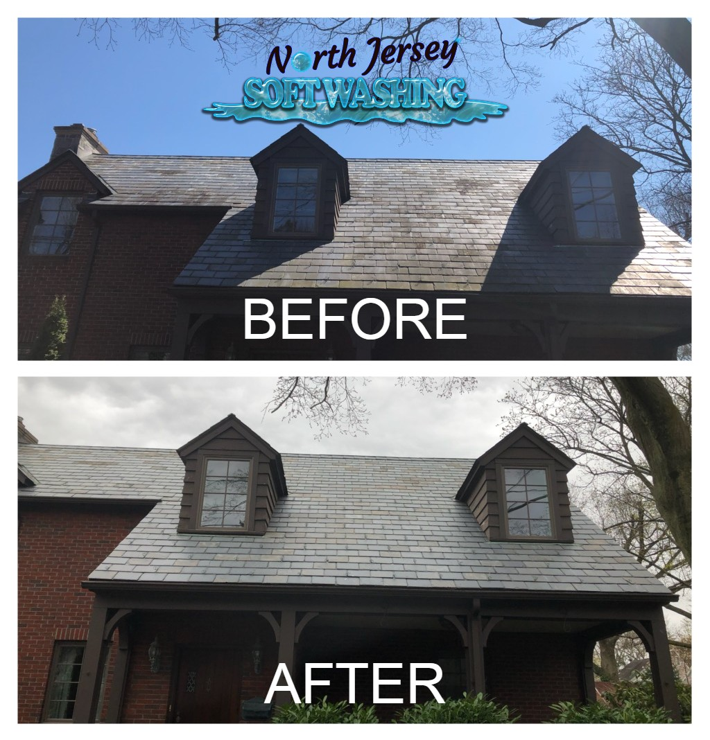 North Jersey Soft Washing - Power Washing - Pressure Washing - Roof Washing - Roof Cleaning - Bergen County Roof Cleaning